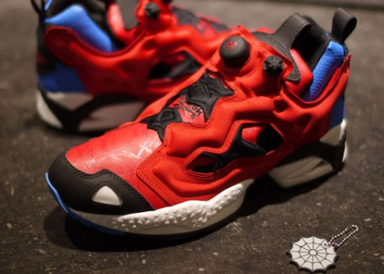 Spider-Man x Reebok Insta Pump Fury
