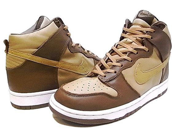 3d0f626a96f1 Stussy x Nike Dunk High (2001)