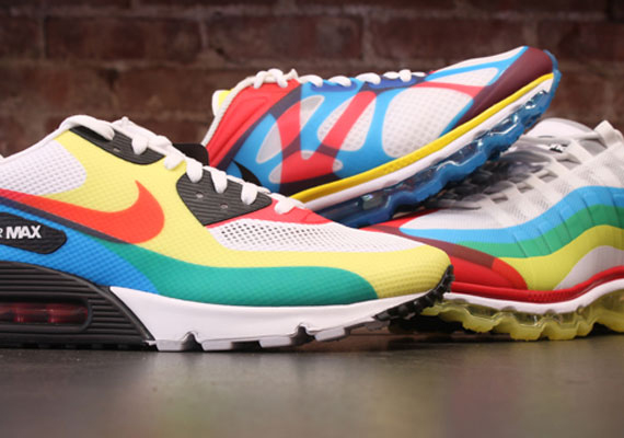 new product b82cf 6d0db Nike Air Max  What The Max  Pack - Release Reminder - SneakerNews.com