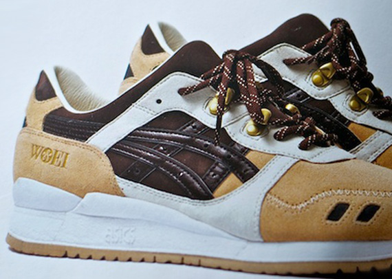 low priced 7f9ef 77875 Woei x Asics Gel Lyte III 'Cervidae' - SneakerNews.com