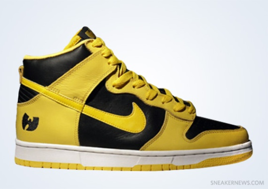 Classics Revisited: Wu-Tang x Nike Dunk High (1999)