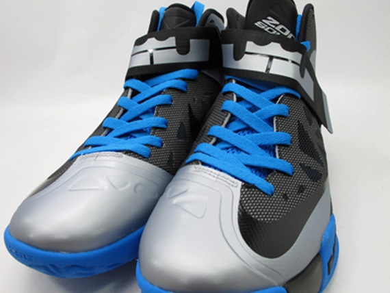 a6faf80f3f42e new Nike Zoom Soldier 6 Silver Black Royal Available on eBay ...