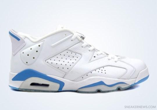 Classics Revisited: Air Jordan VI Low – White – University Blue (2002)