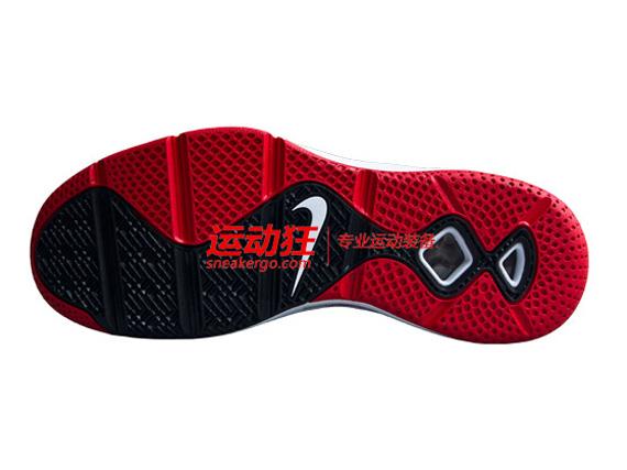 Nike LeBron ST Low - SneakerNews.com. Discount Buy Nike LeBron ST Low  534846-600 Solar Red Black White