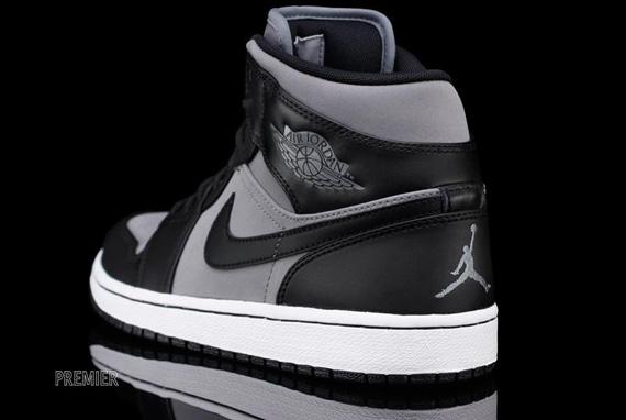Air Jordan 1 Phat Frais Blanc Gris Noir