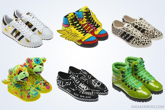 Jeremy Scott x adidas Originals Fall Winter 2012 - Detailed Images ... 30ac4b4599e3