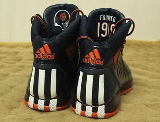 adidas adiZero Rose 3.0 'Chicago Bears'
