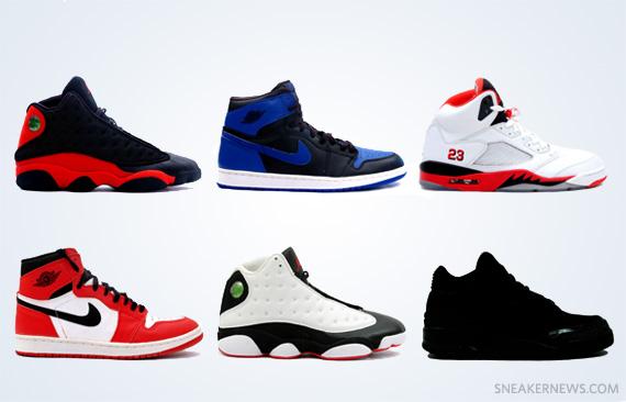 1f003e76804090 Air Jordan Retro Releases - Spring 2013 - SneakerNews.com