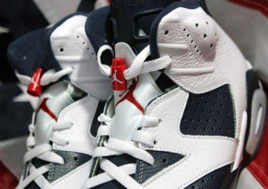 """Air Jordan VI """"Olympic"""" – Arriving At Retailers"""