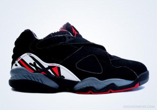 "Classics Revisited: Air Jordan VIII Low ""Playoffs"" (2003)"