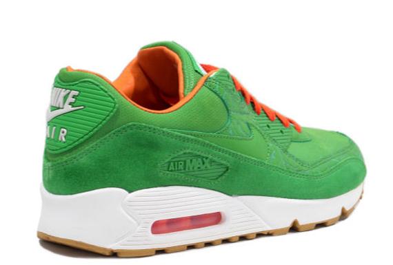 Nike Air Max 90 Green And Orange
