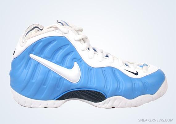 Nike Air Foamposite Pro University Blue White
