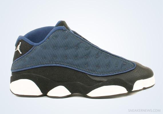 19240bb3d064 Classics Revisited  Air Jordan XIII Low – Black – Navy (1998)