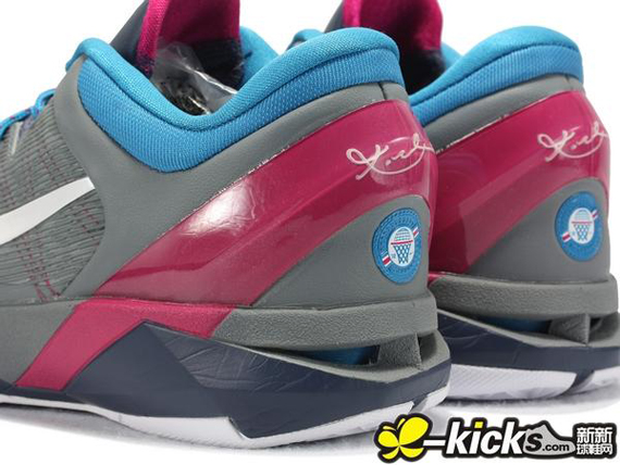 Kobe 8 Pink And Blue Pink Kobe 8 With Blue ...