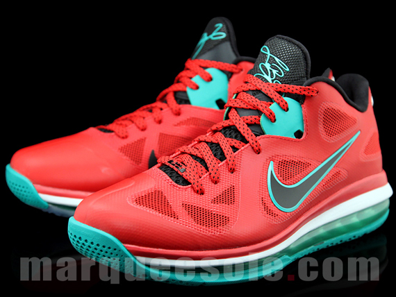 finest selection c9047 6c4a8 nike lebron 9 low christmas