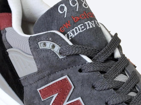 New Balance 998  Made in USA  - Grey - Black - Red - SneakerNews.com d12a57551