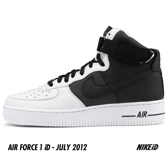 Nike Air Force 1 iD Tactical Mesh & Leather Options