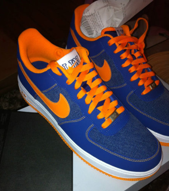 "low priced a73c4 e2bef Nike Air Force 1 Low ""Jeremy Lin"" – Available on eBay"