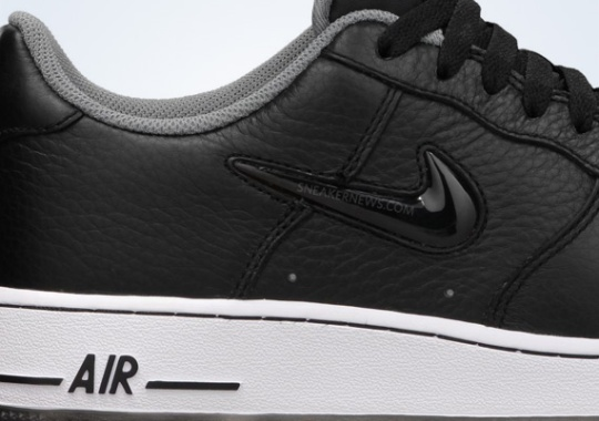 "Nike Air Force 1 Low ""Jewel"" – Black"