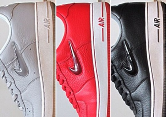 "Nike Air Force 1 Low ""Jewel Pack"" – Available"