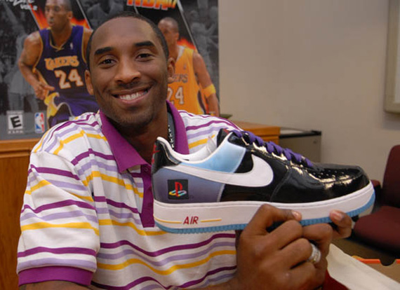 Kobe Bryant Nike Air Force 1 Playstation