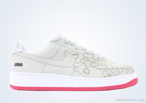 "best website 2602d 6d46d Classics Revisited Nike Air Force 1 Low ""Sakura Ueno"" (2005)"