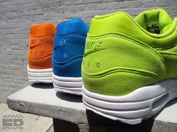 Nike Air Max 1 - Mandarin, Atomic Green