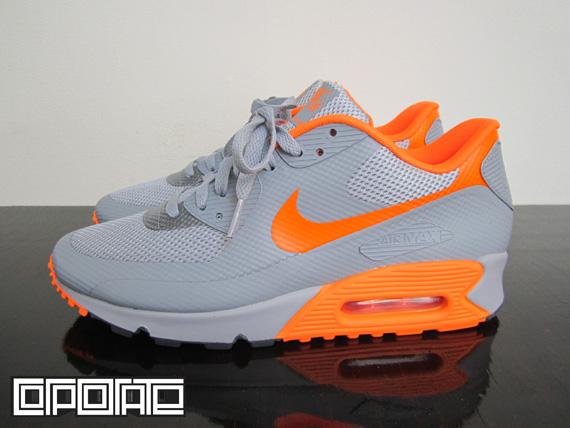 Nike Air Max 90 Hyperfuse Furtif Boutique Ebay Orange