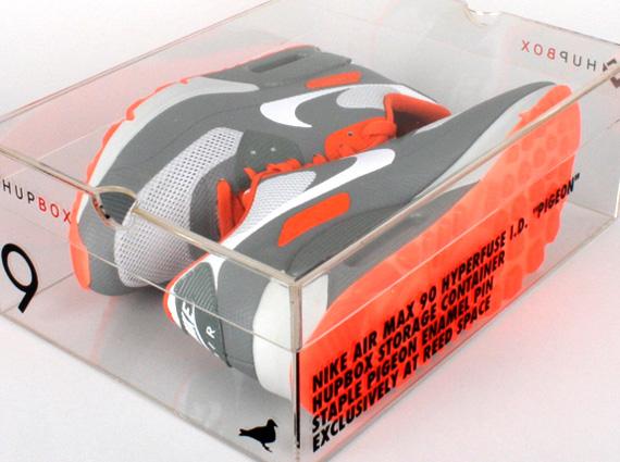 timeless design 74b34 8d34f Jeff Staple x Nike Air Max 90 Hyperfuse iD