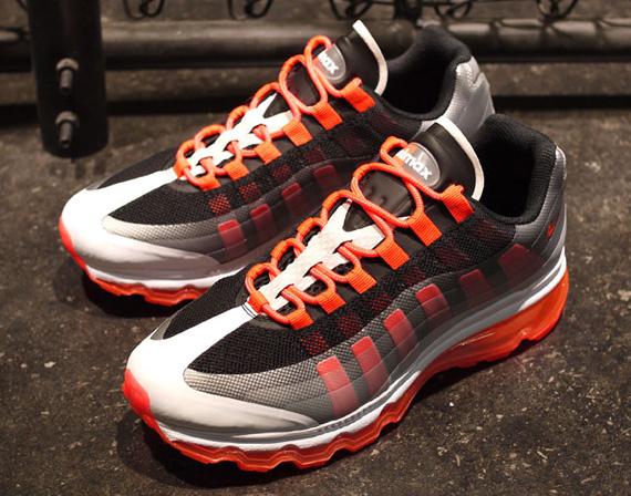 Nike Air Max 95 Bb Black Bright Crimson Dark Grey