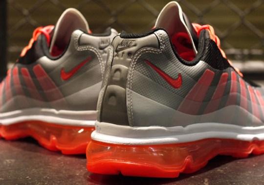 reputable site 21590 ff62a Nike Air Max 95+ BB – Black – Bright Crimson – Dark Grey – Wolf