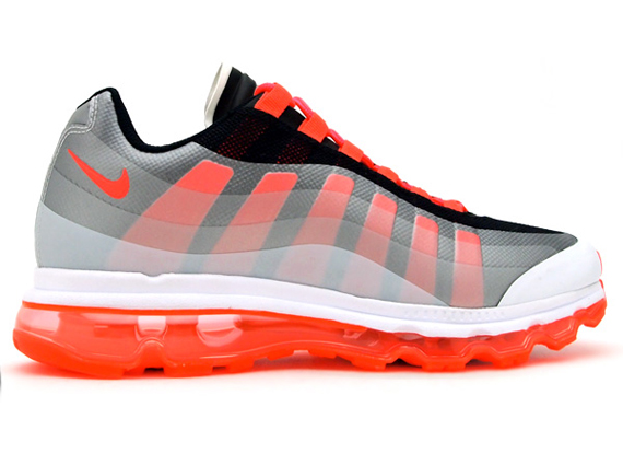 Nike Air Max 95 360 - White - Black - Solar Red - SneakerNews.com