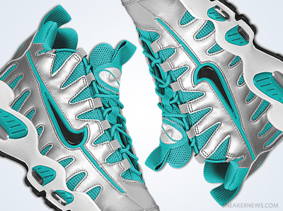 35646b8141 Nike Air Max NM - Metallic Silver - New Green - SneakerNews.com
