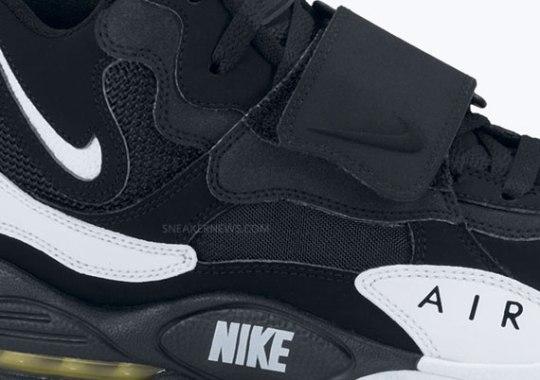 Nike Air Max Speed Turf – Black – White – Voltage Yellow