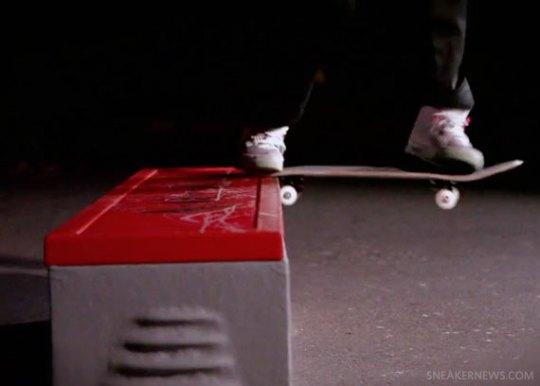 Nike Air Yeezy 2 Skate Test