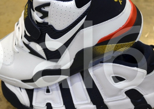 "Nike Air Force 180 + Air More Uptempo ""Dream Team"" Set on eBay"