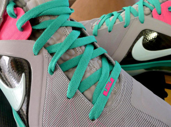 pretty nice f3935 ff086 Nike LeBron 9 P.S. Elite  Miami Vice  – Release Reminder