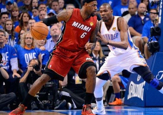 "Nike LeBron 9 Elite ""NBA Finals"" PE"