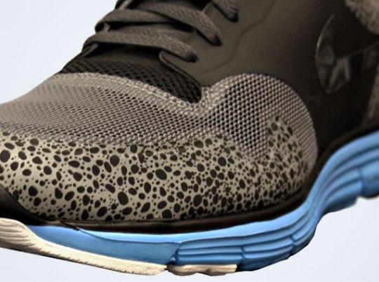 Nike Lunar Safari Fuse+ – Black – Anthracite – Dynamic Blue