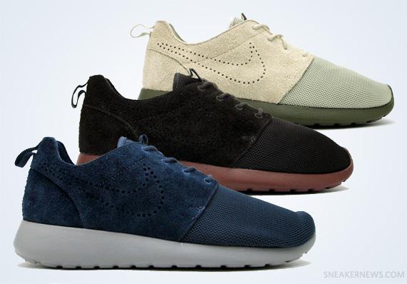 huge selection of d5970 05df5 Nike Roshe Run Premium – Fall 2012 Colorways