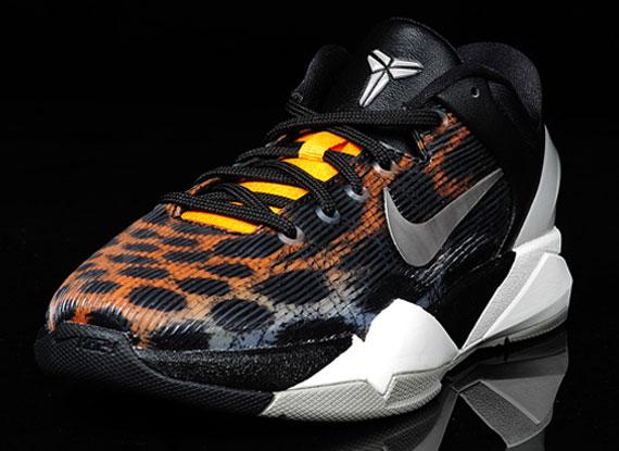 315d1d19a472 Nike Zoom Kobe 7 Cheetah Christmas