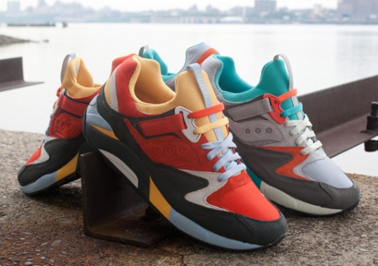 """Packer Shoes x Saucony Grid 9000 """"Tech Pack"""" – Release Info"""