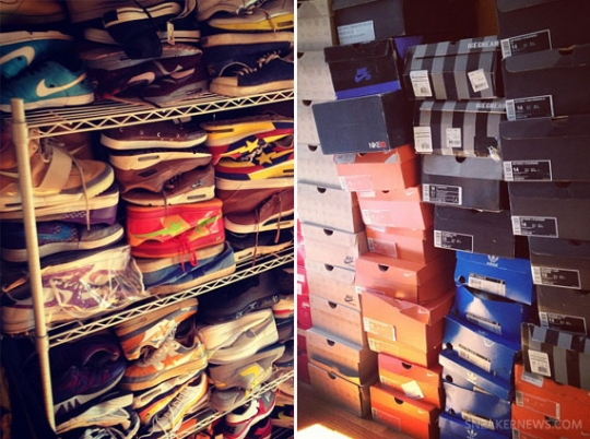A Look Inside Questlove's Sneaker Collection