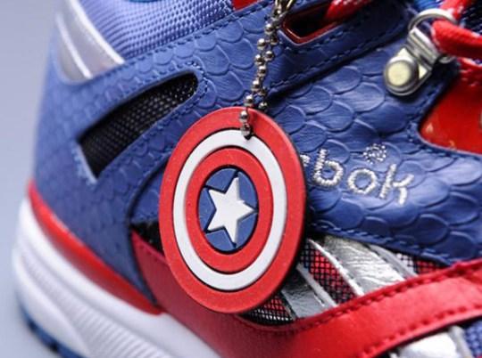 "Marvel x Reebok Ventilator ""Captain America"""