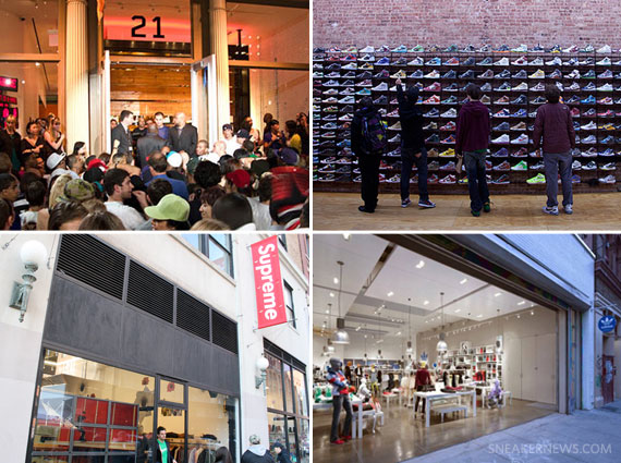 List Of Major Shoe Stores