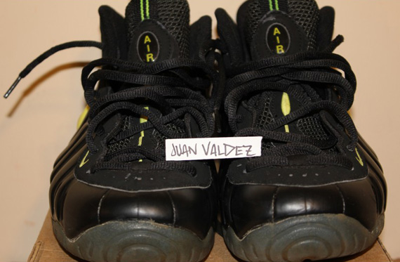 huge selection of a3c06 34443 hot nike air foamposite pro black voltage yellow black 630304 071 1997 170.  photos iss