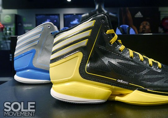 adidas adiZero Crazy Light 2 – Fall 2012 Colorways