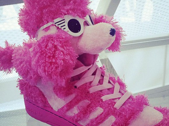 jeremy scott pink poodle adidas