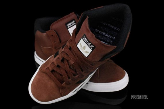 adidas Skate Campus Vulc Mid – Dark Rust – Black