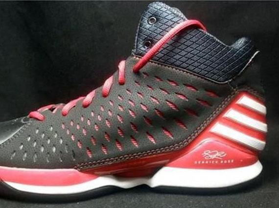 adidas adiZero Rose 3.0 Black Red White